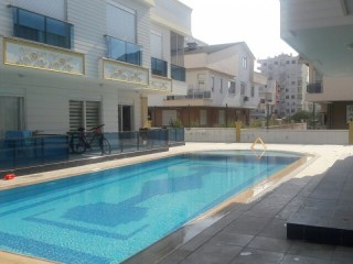 5MIN TO GÜZELOBA LARA BEACHES ZERO FURNISHED 1 BEDROOM WITH POOL