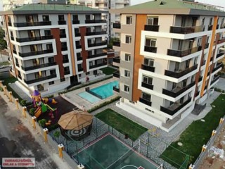 Antalya Kepez 3 bedroom Residence for sale in complex