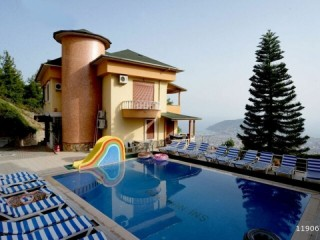 ALANYA BEKTAS FULL FURNISHED 4+1 VILLA FOR RENT WITH POOL