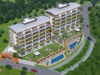 Advantageous project of 40 apartments ready for construction in kargicak