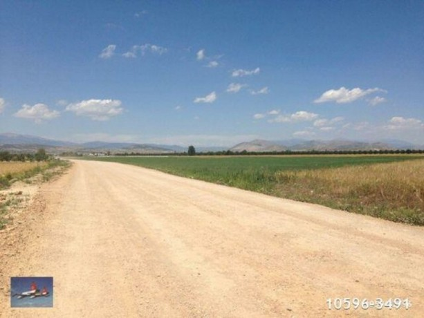 antalya-buyukkoy-has-zero-electric-water-on-the-main-road-in-the-field-for-sale-big-0