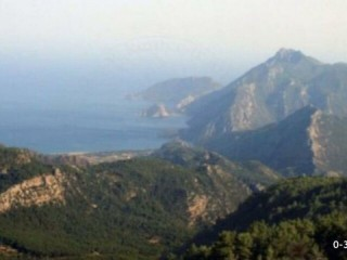 High mountains in Turkish village, Beycik Zoned Sea Sees Detached Plot