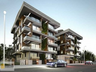 Konyaalti luxury apartment project from Construction company