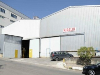 1600 M2 closed 800 M2 open area rental factory in Tuzla free zone