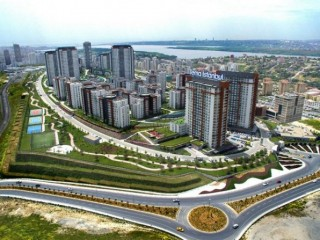 Theme Istanbul Residence 35% down payment, 12 months installments