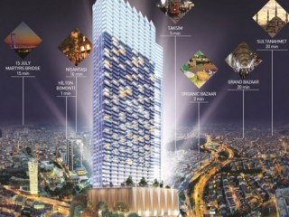 Queen Center Istanbul amazing, %30 Down Payment, 60 months installments