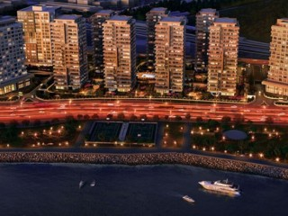 Cantral Bakırkoy Apartments Istanbul 50% down payment, 24 months installment