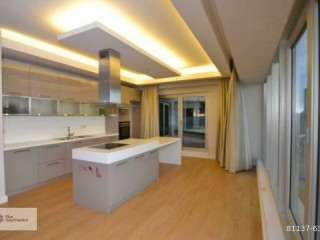 Istanbul Sariyer Ayazağa 3+1 Large Type Forest View Apartment For Sale