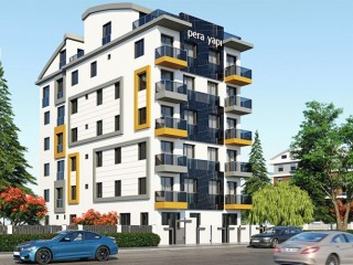 Antalya Apartment for Sale in Yildiz, Duplex 2+1 Smart Homes New