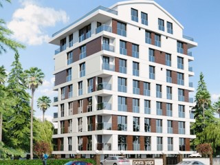 Direct Construction Company, New Antalya 65 m2 2+1 Smart Apartments
