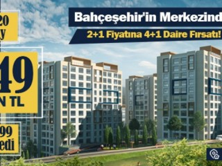 Developer huge offer in Basaksehir, Get 4 bedroom for 2 bedroom price luxury apartments