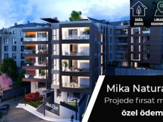 Special payment plan opportunity at Mika Naturalist 2 Kemerburgaz