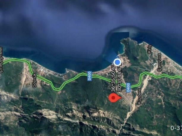 antalya-kemer-zoned-villa-land-for-sale-without-commission-big-2