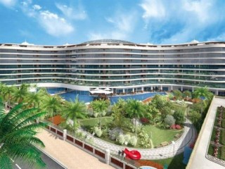 Antalya 5 Star Complex Sirius Town 1 bedrooms by Kundu Lara Beach