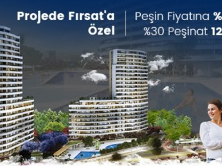 Mix Motto project in Mezitli region of Mersin beach, offers a 20% discount