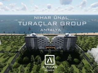 High-end Sunis Residence is completed in Konyaaltı beach, Antalya