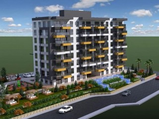 Kepez Panorama Park project all 3+1 apartments in Antalya