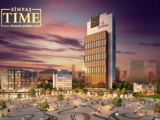 Umiraniye Sinpaş time Finance City, offers bank loan 120 months 0.99 percent interest