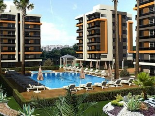 Samut Comfort City project, new 84 luxury apartments in Kepez, Antalya
