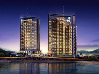 Mersin Athena residence, two 26-story towers 174 apartments 70m to Erdemli beach