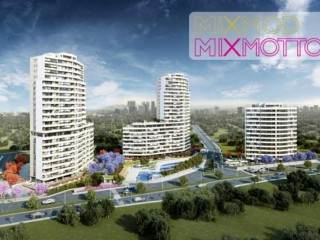 Mix Motto project is being built by Oktay construction in Mersin
