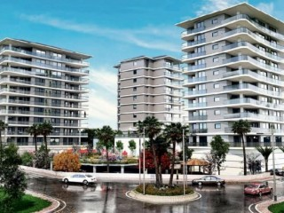 Hayat Park housing projectin Mersin Anamur by Mediterranean sea