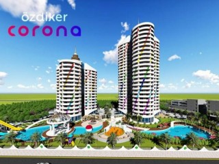 Özdiker Corona project, prices starting from 255.000 TL in Mersin Yenisehir