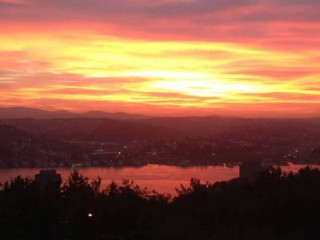 Room for rent to student with Bosphorus sea view in Besiktas