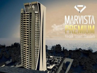 Sea view Marvista Premium luxury 5 bedroom condos in Mezitli, Mersin