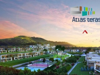 Atlas Terrace apartments for sale dominates the city view Buluklu, Mersin