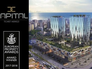 European Property Award, commercial office space at Capital Trade Center Mersin