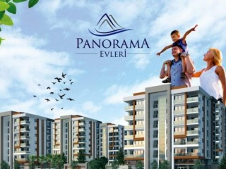 Panorama houses built with signature of Ulu construction, 86 apartments in Mersin.