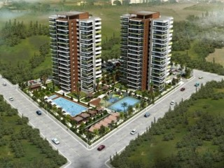 Novita Terrace signed by Ekinci construction, 96 apartments in Yenisehir Mersin