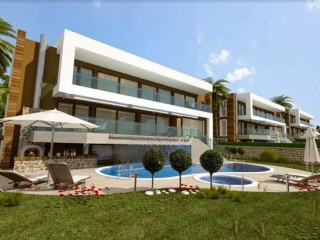 Moda Natura Club with full Red Castle sea views in Bektas Alanya