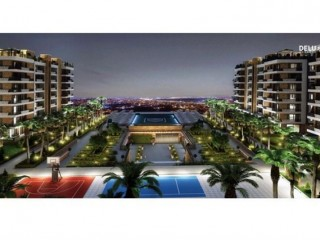 Deluxe Antalya Apartments with 25% down payment 120 months payment installments