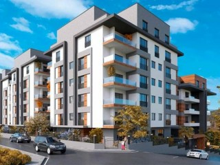 Bursa Olive Park Burgas project by Aktuğcan for sale 130 apartments