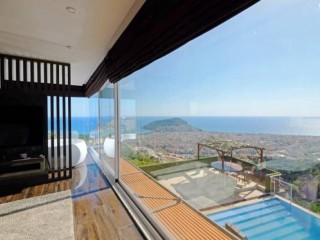 Alanya Bektas sea view luxury house for sale, Turkey real estate