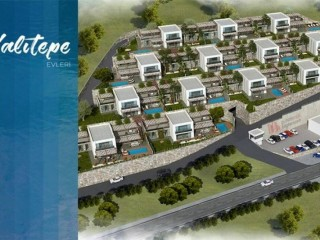 Affordable Yalıtepe 455 m2 Homes on beach in Yalıkavak Muğla, Bodrum