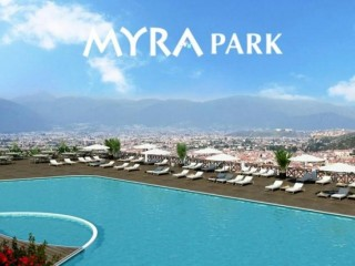 Fethiye Myra Park by Canyol of 317 beach apartments from 395.000 TL