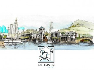 Anthaven Aspat seafront, consists of 162 houses 7 villas in Bodrum Akyarlar