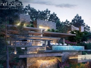 2021 Deluxe Gölköy Heavens cove Bodrum, 89 Luxury 1.200 m2 Houses with Pools