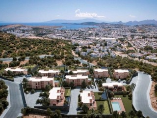 Bodrum Skyhill Homes in Yeniköy buy 25% down and 24 months 0 interest