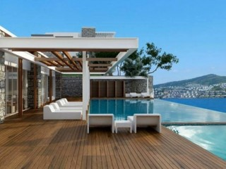 Seba Pearl Gundogan, consists of 72 apartments in Bodrum Gündoğan