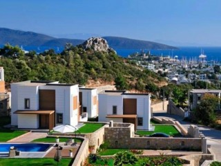 Bodrum Kaledos Houses bears signature of Eltemur Yapı, 16 detached villas