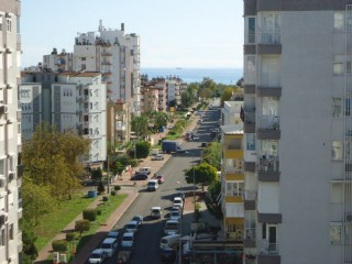 Lara apartment for rent furnished long term Antalya