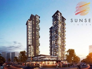 Ankara Incek, Sunset Incek Towers up to 48 month installments for delivery Jul 2021