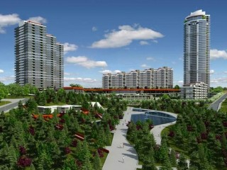 Ankara Incek, Prestij Residence special location 765 Apartments 1 - 6 bedrooms