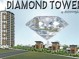 Ankara Yenimahalle, Diamond Tower 36 houses and 6 villas rises in Hayatkent