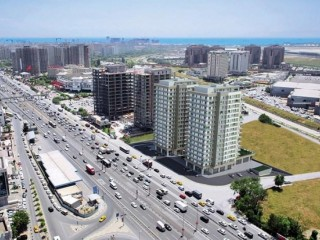 Istanbul Avrupa side, Ataköy Route Residence 25% down with 60 months installments