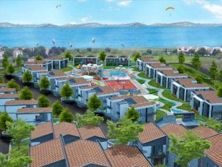 Muğla Datça, Arbetta Complexia cheap holiday beach apartments 290.000 TL